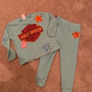 Designer boutique kids outfit 2t/3t